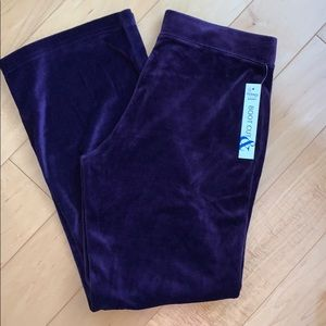 NWT Purple Track Pants